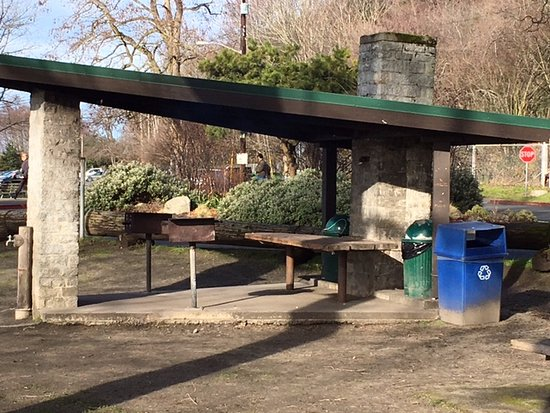 covered picnic shelter - Picture of Golden Gardens Park, Seattle .