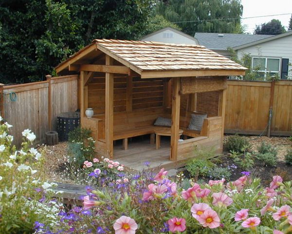 Custom Garden Patio Shelter Design | Backyard pavilion, Backyard .