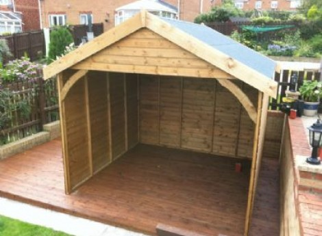 Cheap garden shelter ide