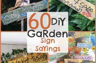 DIY Garden Signs and Garden Sign Sayings | Funny garden signs .
