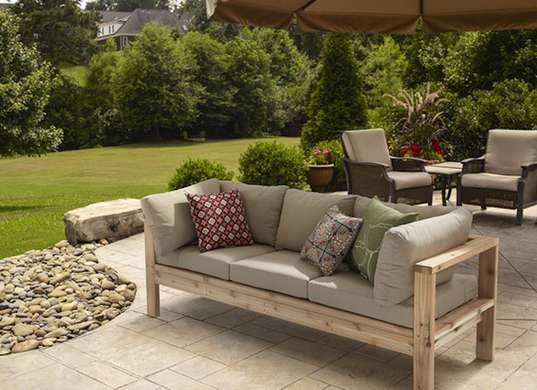 10 Doable Designs for DIY Outdoor Furniture | Diy outdoor .