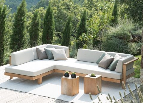 Tribu Pure Corner Garden Sofa | Garden sofa, Outdoor furniture .