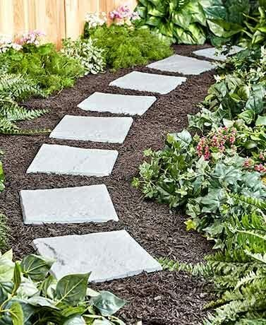Check out this set of 8 Garden Stepping Stones only $9.98!