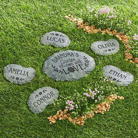 Blooms with Love Garden Stepping Sto