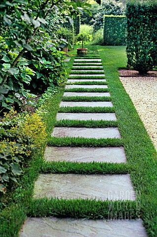 How to Make Garden Stepping Stones   Front yard garden design .
