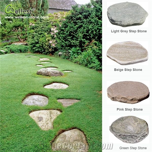 Best Price China Natural Slate Garden Stepping Stone Paverment .