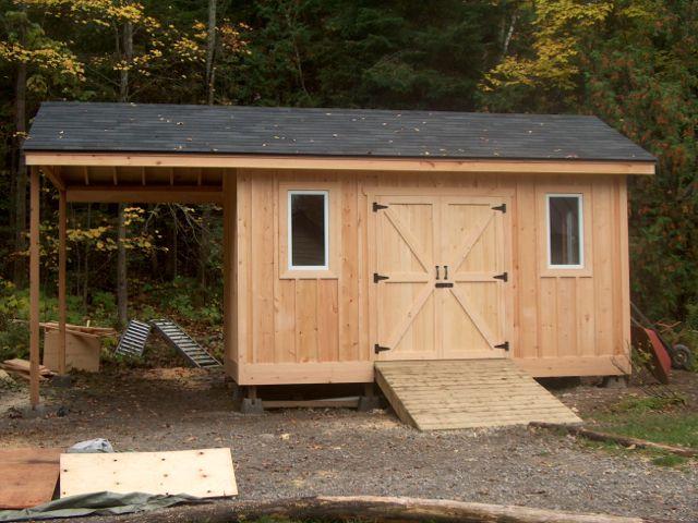 Pine Board and Batten Shed | Backyard sheds, Sh