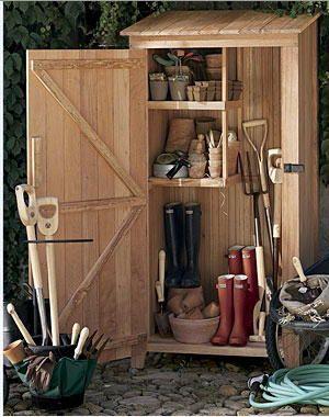 Gardening tools as gifts | Garden storage, Shed stora