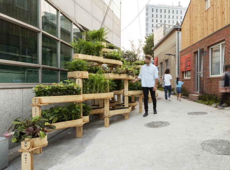 Open Source Plan for a Modular Urban Gardening Structure Offers a .