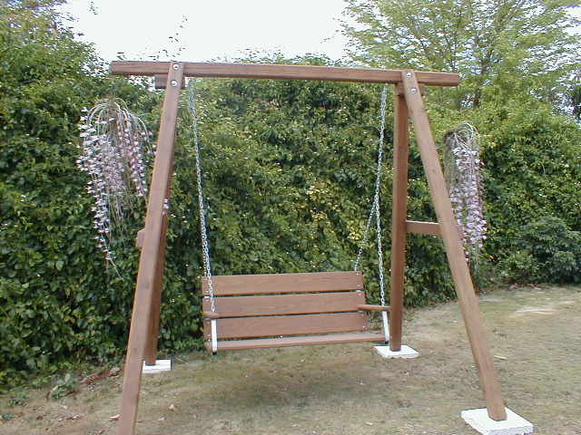 Do it yourself home business garden swing