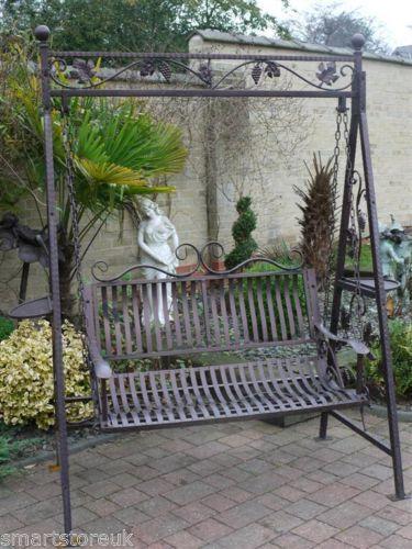 WANT....... Metal Victorian Design Swinging Hammock Garden Swing .