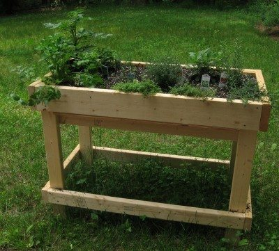 What Are Table Gardens - Information For Raised Garden Bed Tabl