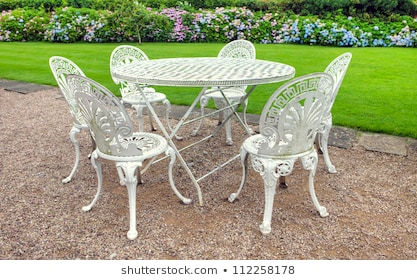 Wrought Iron Furniture Images, Stock Photos & Vectors | Shuttersto
