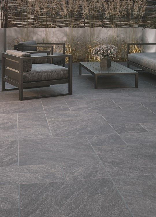 Image result for grey porcelain gaRDEN tiles | Patio stones, Patio .