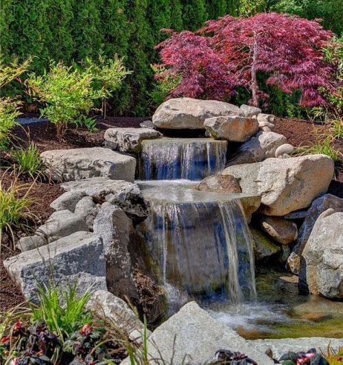 53 Backyard Garden Waterfalls (Pictures of Designs) | Waterfall .