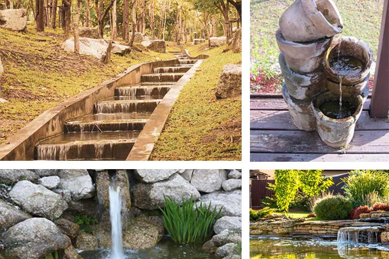 25 Amazing Backyard Garden Waterfall Ideas | Green and Vibra