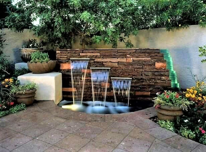 Amazing Modern Ideas for Garden Waterfalls | DIY Moti