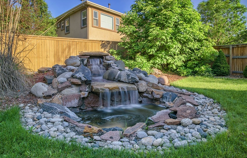 53 Backyard Garden Waterfalls (Pictures of Designs) - Designing Id