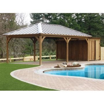 Customized outdoor garden wooden gazebo kits | Global Sourc