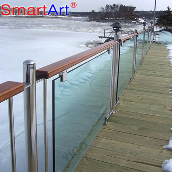 cheap deck railingfrosted glass balcony balustrade, View deck .