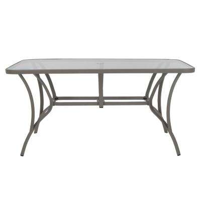 Glass - 38 in - Patio Tables - Patio Furniture - The Home Dep