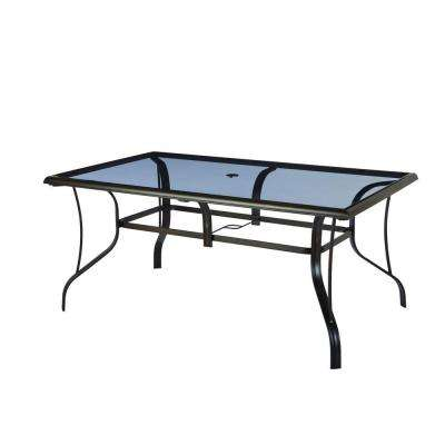 Pewter - Glass - Free Shipping - Patio Tables - Patio Furniture .