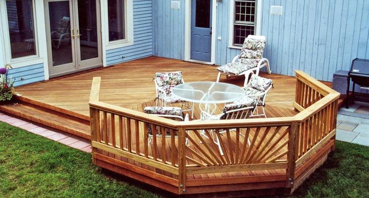 20+ Ground Level Deck Designs, Idea | Design Trends - Premium PSD .