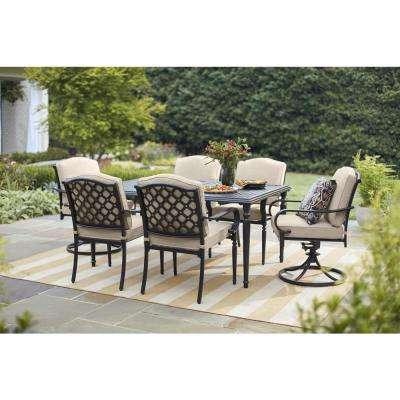 Classic - Hampton Bay - Patio Dining Furniture - Patio Furniture .