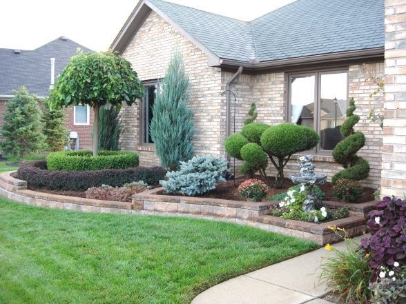 landscaping hardscape ideas front yard - Google Search | Front .