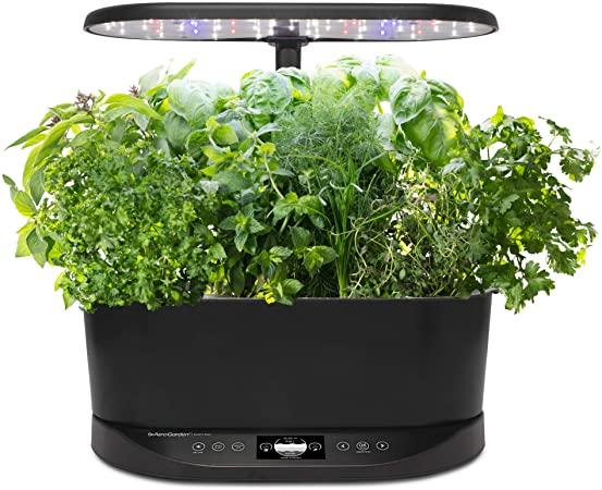 Amazon.com : AeroGarden Bounty Basic Indoor Hydroponic Herb Garden .