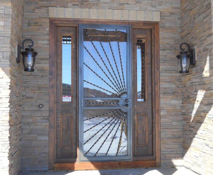 Custom Security Doors in the Denver Area | Liberty Home Produc