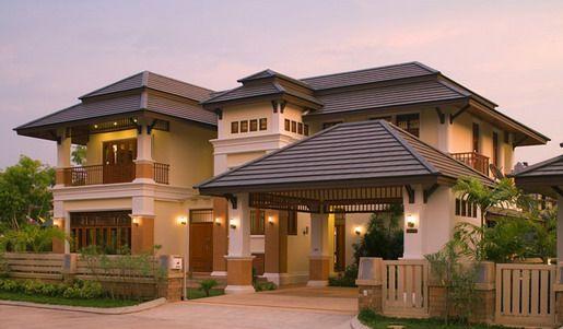 Popular Elegant Home Exterior Design Styles in 2020 | Facade house .