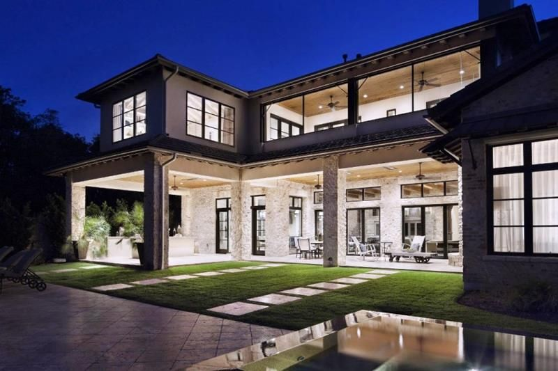 25 Luxury Home Exterior Designs | Luxury homes exterior, Country .