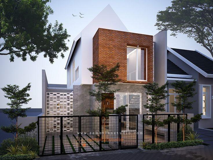Minimalist Home Exterior Decoration Ideas 31 | Arsitektur modern .