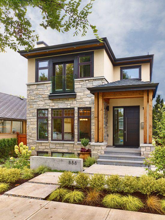 71 Contemporary Exterior Design Photos | Unique house design .