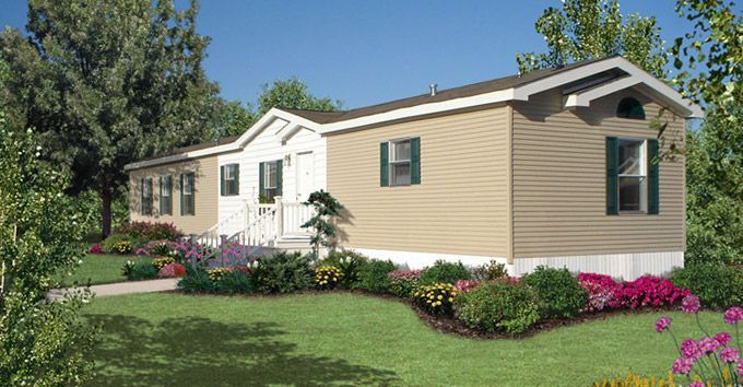 landscaping around single wide mobile homes | Single Wide Mobile .