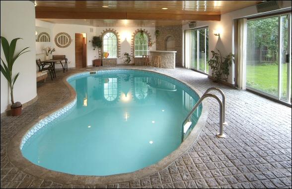 Luxury Interior Designs: Indoor home swimming pool designs idea