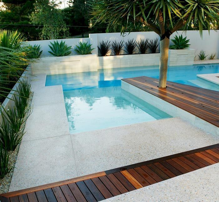 Swimming Pool Ideas: Above ground pool ideas to beautify a prefab .