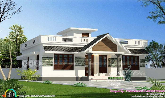 Stunning three-bedroom bungalow with roof deck - Pinoy House Pla