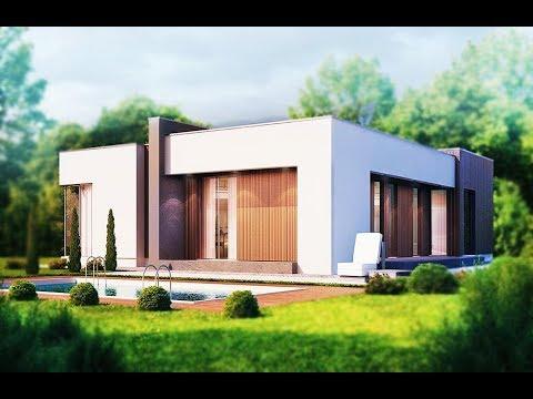 House Plan 2018 | (129 + 30 m²) One Storey House Modern Design .