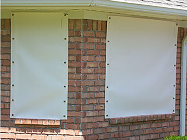 Fabric Storm Shutters - Fabric Shutters - Shop by Style | Storm .