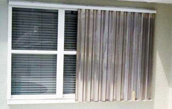 Storm Shutters in Sebastian and Excessive Heat Forecast .