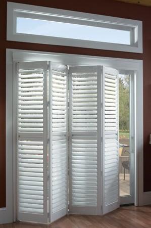 China Basswood Folding Indoor Window Shutters Door for Interior .