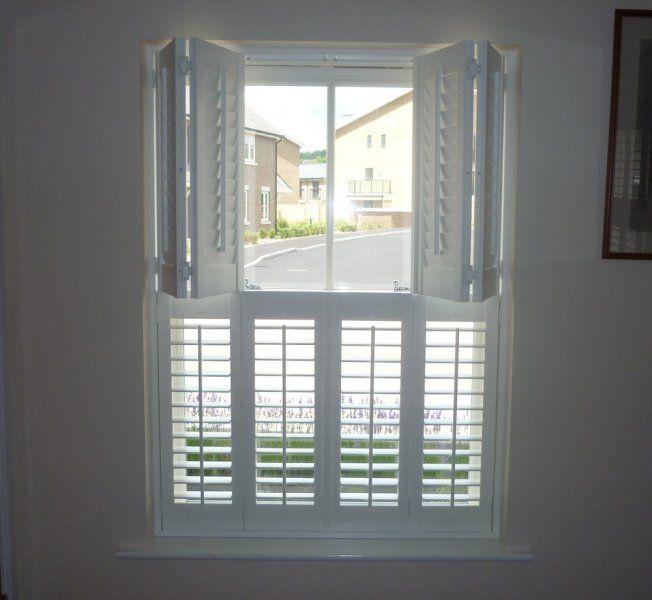 Tier on Tier Window Shutters | Indoor shutters, Window shutters .