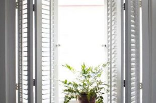 50 Nifty Fix-Ups For Less than $100 | Kitchen window treatments .