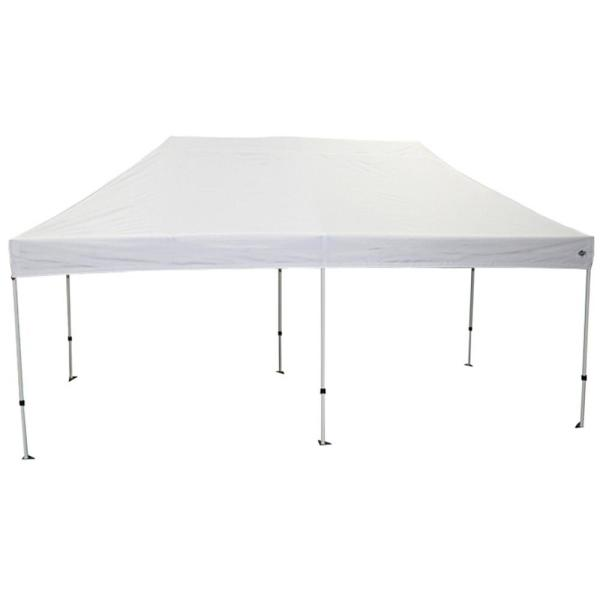 King Canopy Goliath 10 ft. x 20 ft. Silver Frame Instant Pop Up .