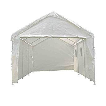 """Amazon.com: King Canopy Enclosed Canopy With Windows - 10'8""""Wx20 ."""