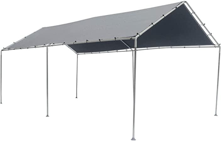 Amazon.com : 10' x 20' 6-Leg King Canopy : Outdoor Canopies .