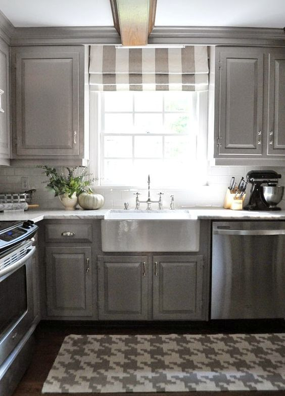 3 Kitchen Window Treatment Types And 23 Ideas - Shelterne