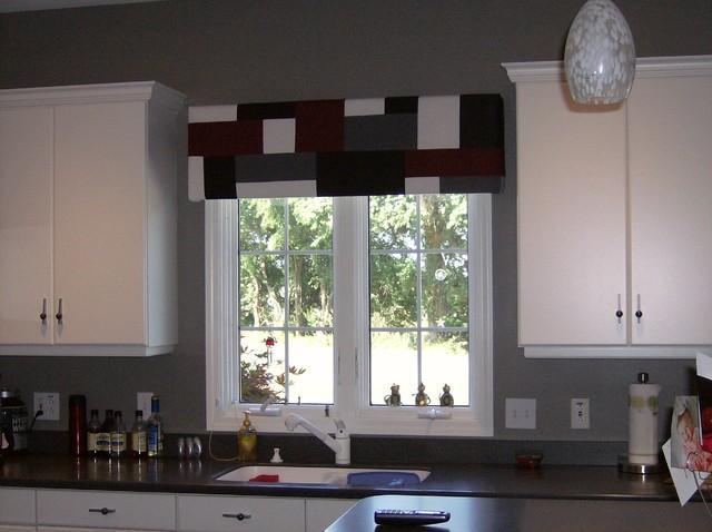 Kitchen Window Treatments - Modern - Kitchen - St Louis - by .
